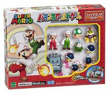 Super Mario Bros Figure Balance World Game Fire Mario Set