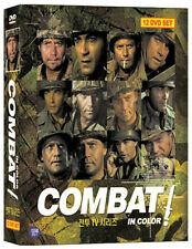 Combat (Vic Morrow, 1966) TV Series 12-Disc, Box Set / DVD NEW