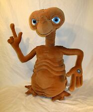 Vintage ET Extra Terrestrial Talking Plush Light Up Finger Heart WATCH VIDEO 24""