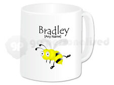 Personalised Ceramic Mug- Insect Design- Bee