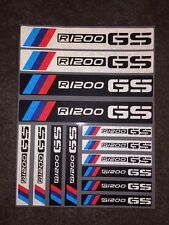 BMW Motorrad R1200GS F800GS F700GS F650GS/ADV Side box Cover Decal Sticker 3M