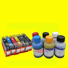 6 refillable cartridge for Canon PGI-525 CLI-526 225 226 600ml refill ink MG6150