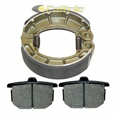 Front Brake Pads & Rear Shoes Fits HONDA CX500C Custom, CX500D Deluxe 1978-1981