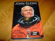 JOHN GLENN-A MEMOIR- SIGNED-1ST US-1999-HB-VG-BANTAM-FIRST MAN IN ORBIT-V RARE