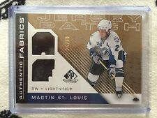 2007-08 SP Game Used Authentic Fabrics Patch Martin St Louis #26/50 NM+