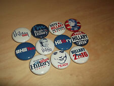 HILLARY CLINTON 2016 election campaign button badge pin democrat president