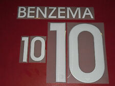 FLOCAGE OFFICIEL BENZEMA FRANCE NIKE HOME 2014/2016