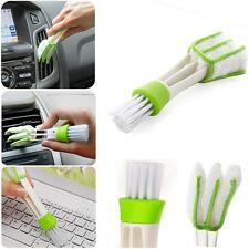Air-conditioner Keyboard Window Double Ended Dust Cleaner Brush Car Air Vent