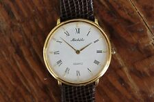 Vintage Michele Quartz Gold Watch 71 102 G