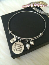 Mother in Law Bangle Bracelet Wedding Gift Thanks for Raising Man of my Dreams