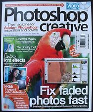 FIX FADED PHOTOS FAST Photoshop Creative No. 46 With LOADED CD! Expert Tutorials