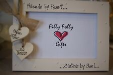 Personalised Photo Frame by Filly Folly! Best Friends Sisters Birthday Gift!