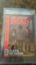 The Walking Dead #10 Argentina Edition CGC 9.2
