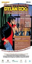 BUON COMPLEANNO DYLAN DOG - POSTER 50X70 XXXIX MOSTRA RAPALLO