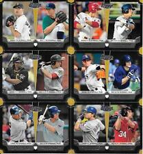 2012 BOWMAN DRAFT DUAL CARD TOP (10) PICK LOT SEE LIST & SCAN FREE COMBINED S/H