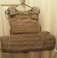 Condor military tactical plate carrier vest