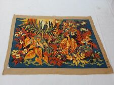 Vintage Beautiful Scene Needle Point Tapestry 114x158cm T824