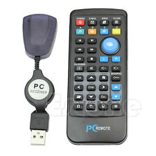 USB Laptop PC Wireless Mouse Keyboard Media Center Controller Remote Control