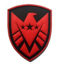 THE AVENGERS movie S.H.I.E.L.D logo Patches PVC Rubber ARMY  PATCH   HK   634