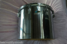 "1970's LUDWIG 15"" CHROME over WOOD CONCERT TOM for YOUR DRUM SET! LOT #J612"
