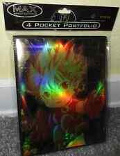Yugioh Sammelordner Sammelmappe MAX 4 Pocket Fire Boy 4 Karten pro Seite