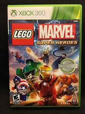 LEGO Marvel Super Heroes (Microsoft Xbox 360, 2013) Fast Shipping! Tested!
