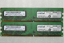 8 GB 4x2GB DDR2 PC2-5300 5300U DDR2-667 MHZ MEMORY DIMM PC DESKTOP RAM 240 PIN