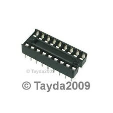 10 x 18 pin DIP IC Sockets Adaptor Solder Type Socket