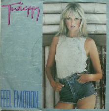 "7"" 1985 WANTED ! TWIGGY : Feel Emotion // VG+ \"