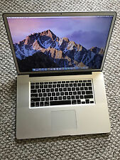 Apple ULTIMATE Macbook Pro 17in late 2011 2.5, 16GB, SSD, low cycles, clean