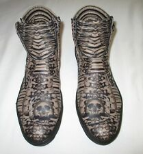 Alexander McQueen Fall 2010 men's catacomb skull bones shoe boot sneaker NEW NIB
