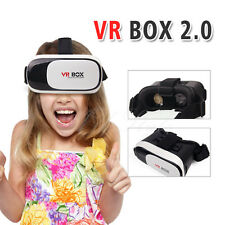 Cardboard VR BOX Google Virtual Reality 3D Glasses Headset For iPhone Samsung