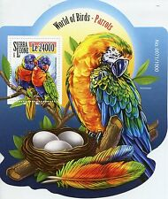 Sierra LEONE 2015 MNH PAPPAGALLI World of Birds IV S / S ARCOBALENO lorikeets Macaws