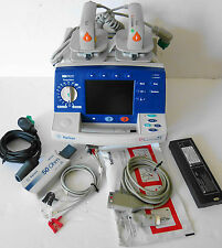 Philips Agilent Heartstream XL Biphasic AED Defib with Pacer,Hard Paddles,ECG