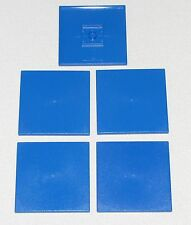 LEGO LOT OF 5 NEW 6 X 6 DOT TILES FLAT SMOOTH PIECES PARTS