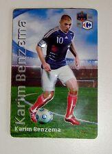 Magnet avec Relief Karim Benzema équipe de France de Football