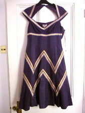 KAREN MILLEN Gorgeous Dress NEW w Tag Size UK 10 Head Turning!