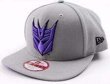 NEW ERA TRANSFORMERS DECEPTICON VISOR SNAPBACK CAP/HAT - OSFM