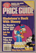 June 1993 Comic Buyer's Guide Gladstone Disney Line Superman