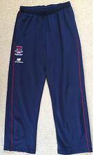 Melbourne Demons AFL Track Pants Mens M New Balance On Field Team Gear  VGC