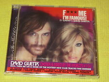 DAVID GUETTA F*** ME IM FAMOUS 2012 CD Album Ibiza Dance House NEW
