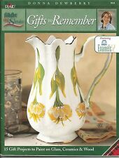 GIFTS TO REMEMBER DONNA DEWBERRY FOLKART ONE STROKE ENAMELS 9838