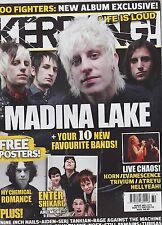 #1171 KERRANG vintage import music magazine - MADINA LAKE - MY CHEMICAL ROMANCE