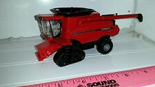 1/64 CUSTOM case ih 8230 combine with tracks no heads included ERTL farm toy