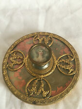 Apollo Studios NY Round Vanity Powder/Trinket Box.