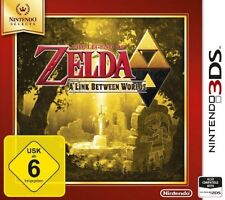 Nintendo 3ds legend of zelda A Link between worlds selects allemand NEUF
