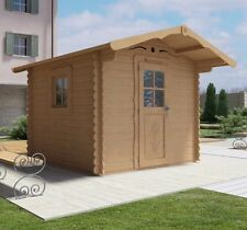 Casetta legno giardino LA PRATOLINA alta qualità spessore 33 mm di abete 2.5x2.5