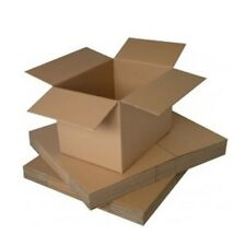 SINGLE WALL FLAT PACKED CARDBOARD BOXES PACK OF 25 Internal Dims 200x150x100mm