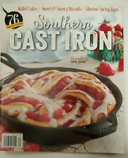 Southern Cast Iron Recipes Skillet Cake Swirl Bread Spring 2016 FREE SHIPPING JB