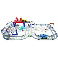 88pcs/lot Electric Rail Car Slot Kids Boys DIY Spiral Track Playset Toy Gift